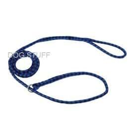 Kennel Slip Lead - Braided Polyethylene - DARK BLUE, by Downtown Pet Supply