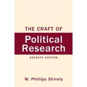 Craft of Political Research: A Primer (Prentice-Hall contemporary comparative politics series)
