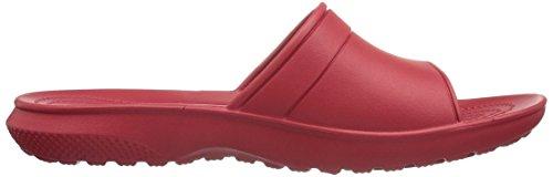 Classic Crocs Ciabatte Unisex Adulto Rosso Slide – pepper ZwP1qrdwE