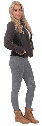 BeLady Legging Femmes Thermo à l'intérieur Avec Polaire Douce et Chaude Taille Haute Beaucoup de Motifs S M L XL 2XL 3XL