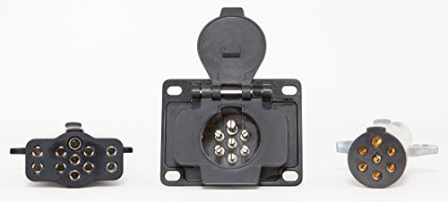 11 Pin Plug & Receptacle 7 to 11 pin conversion multi-use adapter commercial strength O'Neill Components (Oneill Auto)