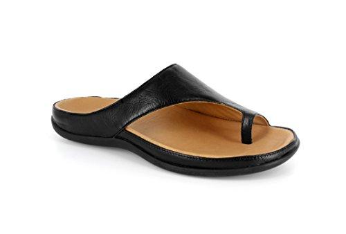 Sandal Stylish Orthotic Strive Footwear Black Capri qHCfEI