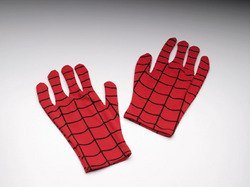 WMU - Spiderman Gloves Adult Comic by Morris Costumes