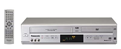 Panasonic PV-D4744S Progressive Scan DVD / VCR Combo , Silver from Panasonic