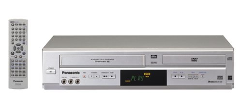 Read About Panasonic PV-D4744S Progressive Scan DVD / VCR Combo , Silver