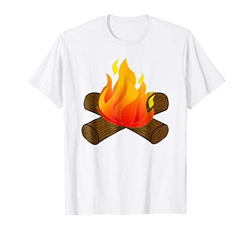 Fire Group S'more Halloween Costume Long Sleeve Shirt ()