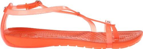 crocs Damen Really Sexi Flip San Zehentrenner Rot (Tangerine/Tangerine)
