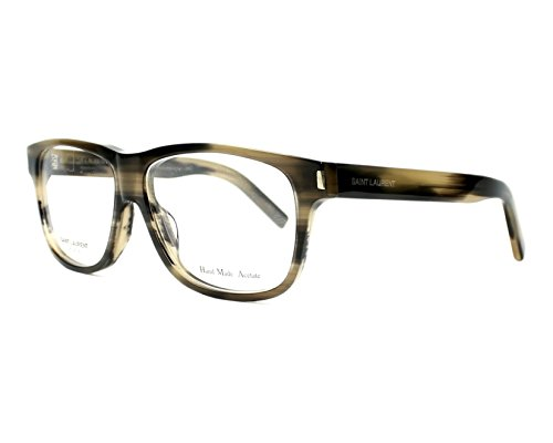 Yves Saint Laurent Classic 5 Eyeglasses-0WT3 Dark Horn-55mm