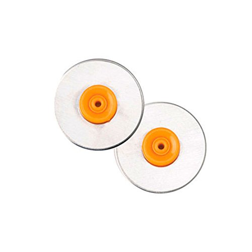 (Fiskars 157390-1001 Titanium Rotary Replacement Blades, 28mm, 2 Pack)