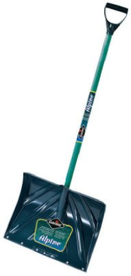 Garant Poly Snow Shovel 18'' Stained Ash 42-1/4'' Handle Length