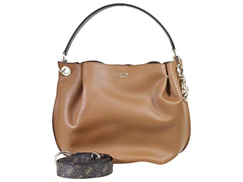 GUESS Digital Multi Hobo, Cognac (Guess Hobo Handbags)