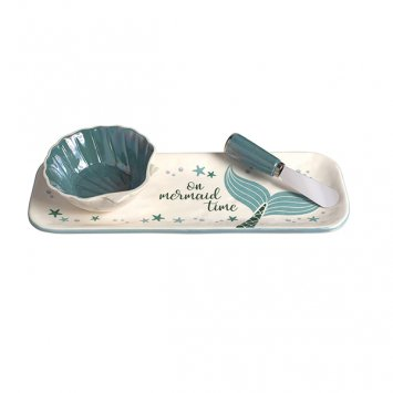 Time Hostess Tray (Grasslands Road Mermaid Hostess Set -