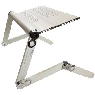 Portable Folding Notebook Or Laptop Table   Desk   Tray   Stand (White)