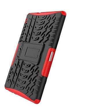 Huawei MediaPad T3 10 (AGS-W09、AGS-L09、AGS-L03)用ケース 耐衝撃/スタンド/アーマーバックカバータイル/アーマーハードPC Huawei MediaPad T3 10 (AGS-W09、AGS-L09、AGS-L03)用 Huawei MediaPad T3 10 レッド B07LDSZRSC