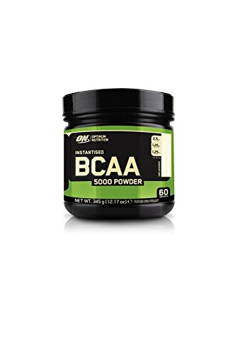 Optimum Nutrition Instantized BCAA 5000mg Powder, Unflavored, 345g