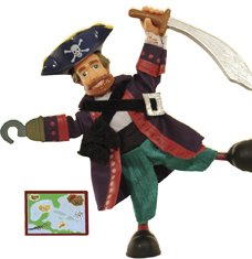 - ODYSSEY Captain Silver Hook the Pirate Action Figure