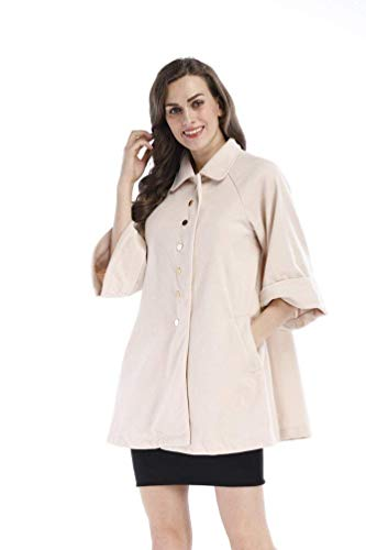 3 Colore Bavero Puro Invernali Di Outerwear Manica Donna Alta Baggy Outwear Breasted Qualit Single 4 Giubotto Ifgy6bY7v