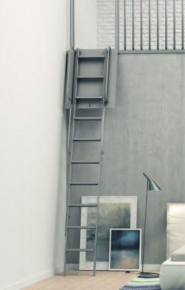 Escalera plegable plegable Mezzanine composée de 4 elementos – ahorro de espacio y esteticismo: Amazon.es: Bricolaje y herramientas