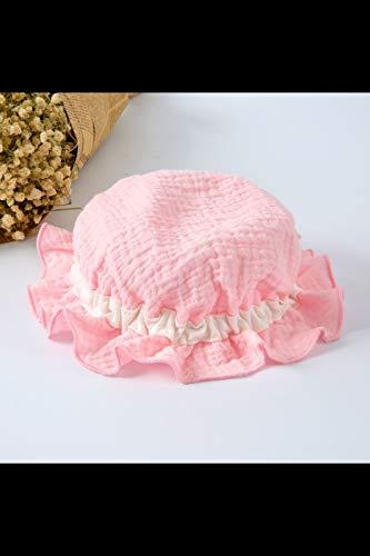 - summer thin men women baby hat cap baby sun shade spring summer newborn girl 6 0-3 months (pink