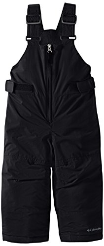 Columbia Big Girls' Snowslope II Bib, Black, Small