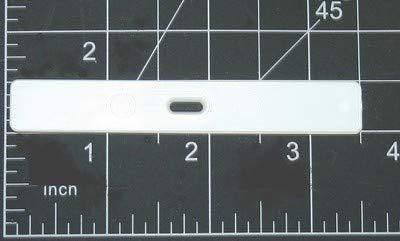 (10 QTY:VERTICAL VANE HANGER :Slat Holder Insert for Fabric Vertical Blind Repair)
