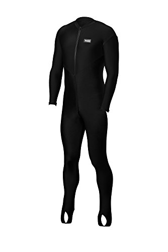 Aeroskin Nylon Lycra Full Body Suit (Black Torso with Col...