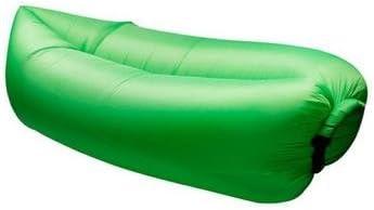 Teechaa Air Lounger Viajes coj/ín Integrado para Interior Exterior Camping sof/á Hinchable Saco de Aire con Bolsa de Transporte sof/á Hinchable Impermeable Fiesta