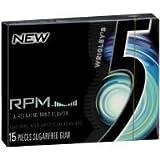 WRIGLEYS 5 GUM RPM MINT 15 stk Each ( 10 in a Pack )