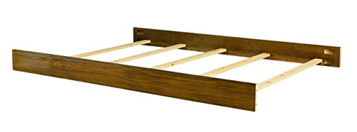 Bassett Baby & Kids Brookdale Full-Size Bed Rails, Rustic Brownstone
