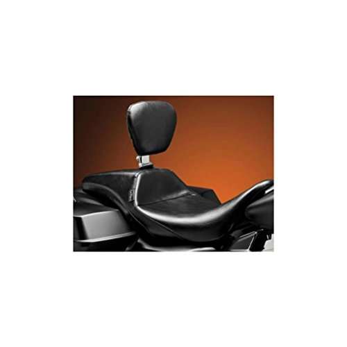 08-14 HARLEY FLHX2: Le Pera Outcast Daddy Long Legs Seat With Backrest