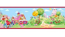 Brewster PS96301 Brewster Strawberry Shortcake Wall (Strawberry Shortcake Wall Stickers)
