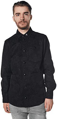 A NEW ERA Jungle Shirt Jacket blk (Small)