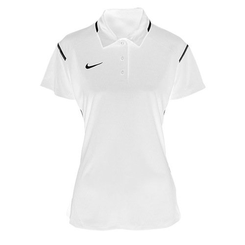 83f0d9af Galleon - Nike Womens Gameday Polo Team (Small, White/Black)