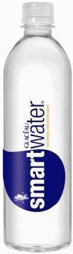 Glaceau Smart Water, 500ml (Pack of 12) by vitaminwater