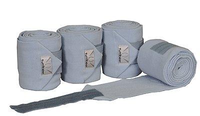 TuffRider Horse Fleece Polo Bandages, Cashm Blue