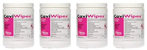 CaviWipes Metrex Disinfecting Towelettes Canister Wipes, 160 Count (4 Pack) by  (Image #2)