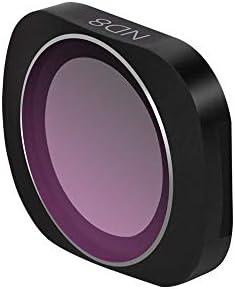 IVSO DJI OSMO POCKET レンズフィルター ND 減光フィルター 光学ガラス 専用 撮影 レンズ保護 HDガラス