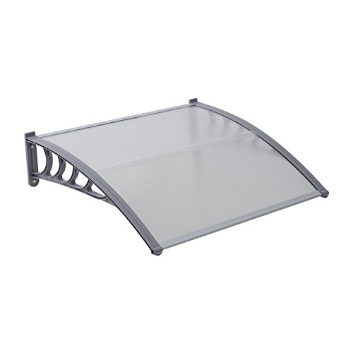 """Outsunny 40"""" Polycarbonate Window / Patio Door Awning Cover"""