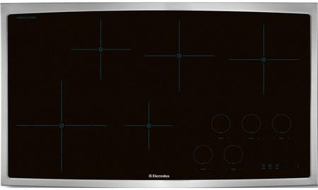 """Electrolux EW36IC60LS 36"""" Induction Cooktop with 5 Cookin..."""