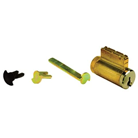 Global Door Controls Universal Cylinder 5-Pin Yale Keyed Different with 3 Tail Pieces (5 Cylinder)