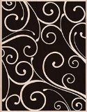 Hero Arts Mounted Rubber Stamps, 4.5 by 5.75-Inch, Florentine Pattern