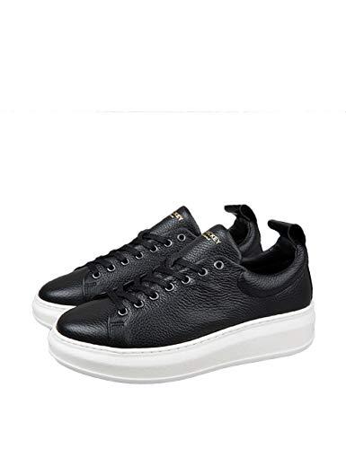 Leather Women's Tech Club Rickey Jim Black Sneakers qAgpHF8w