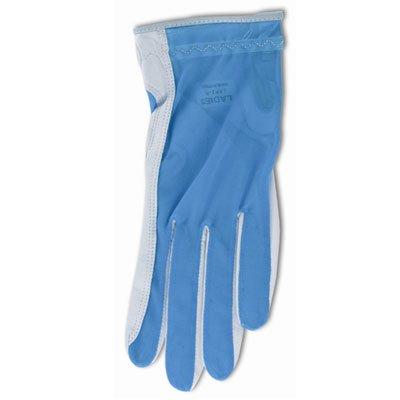 Lady Classic Solar Full Finger Golf Glove Blue Large LH   B007SAEVW8