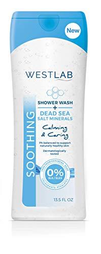 Westlab's Shower Wash (Dead Sea Salt Minerals, 6-Pack) ()