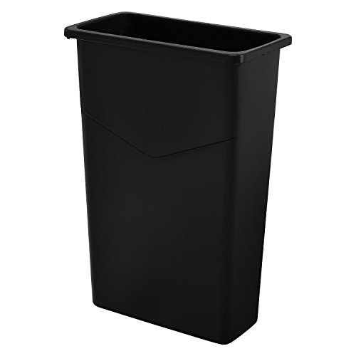 IndustrialSupplies Slim Trash Container, 23 Gallon,