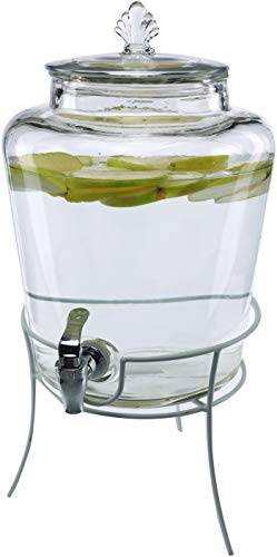 glass 2gallon beverage dispenser - 3