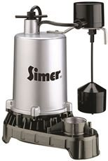 Sta-Rite 4186 Pentair Water Pumps Submersible High Output Zinc Sump Pump, Vertical Switch, 1/2 hp, 10 '' x 8 '' x 13.5''