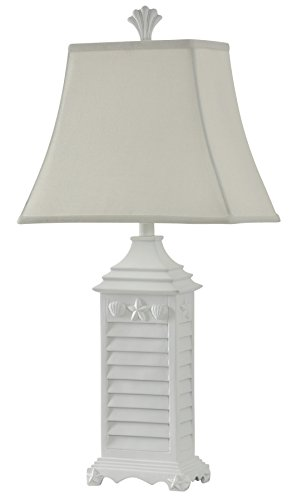 Collective Design 720354121700 Table Lamp, White of Monterey (Palm Lamps)