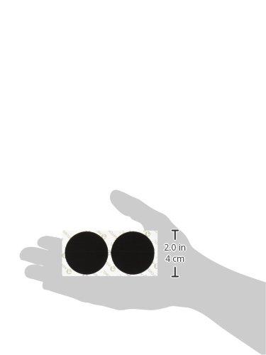 075967901998 - Velcro Industrial Strength Sticky-Back Hook & Loop Fastener 2 PACK TOTAL OF 4 Strips, 4 x 2, Black carousel main 4