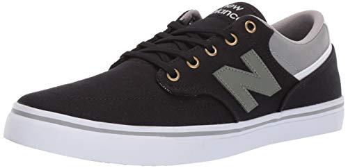 New Balance Men's 331v1 Skate Sneaker, Black/Grey, 13 D US ()